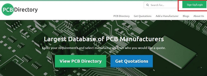 How to Update a Profile on PCB Directory