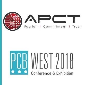 APCT Confirms Presence at PCB West 2018