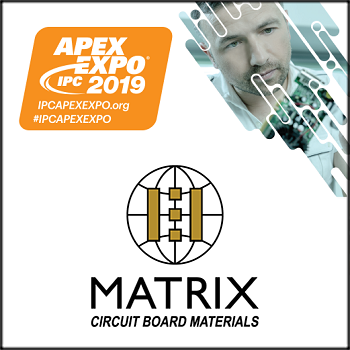 Matrix USA to Exhibit Latest Advancements for the PCB Industry at IPC APEX EXPO 2019