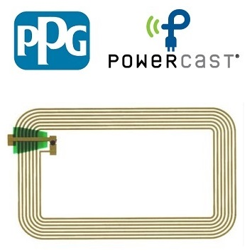 PPG & Powercast to Develop Ultra-Thin, Wirelessly Powered Printed Electronics