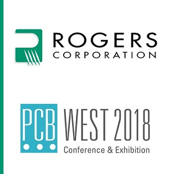 Rogers to Showcase the Latest Multilayer Circuit Materials at PCB West 2018