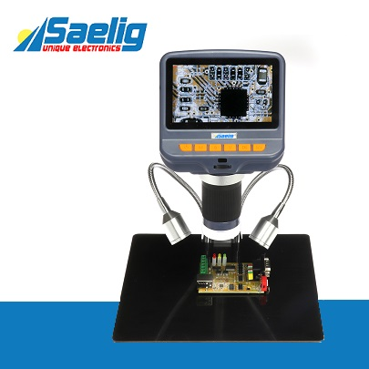 Saelig Launches Affordable Digital PCB Inspection Tool